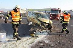 Pondělní nehoda u Litoměřic