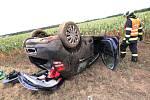 Dopravní nehoda u Vědomic na Roudnicku.