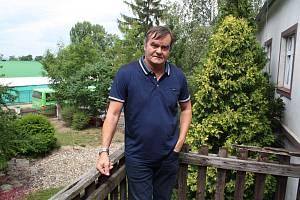 Jan Podsedník, vedoucí závodu Mechanizace Chmelařství, družstvo Žatec.