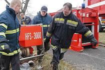 Litoměřičtí profesionální hasiči vyrazili na pomoc do Polska.
