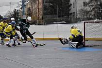Killers Litoměřice vs Bazzy Děčín, hokejbal 2. liga 2020/2021
