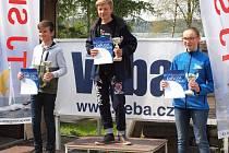 ONDŘEJ MÜLLER z YachClubu SK Štětí vybojoval na přehradě Rozkoš zlatou medaili.