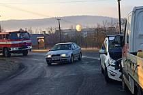 Dopravní nehoda v Libochovanech