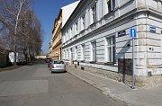 Situační foto k nové jednosměrné ulici v Terezíně.