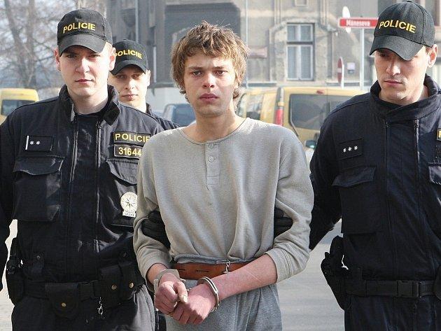 Zatčení Františka Píšy.