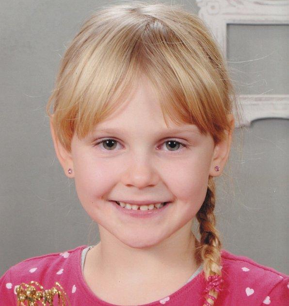 4. Evelyn Dokoupilová - 6let, Litoměřice.