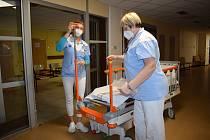 Nové vybavení v litoměřické nemocnici.