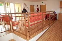 Nový dům s dvaceti chráněnými byty ve Štětí.