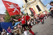 Historický jarmark v Úštěku, sobota 13. 8. 2011.
