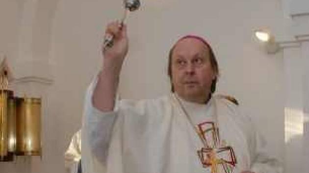 Litoměřický biskup Pavel Posád