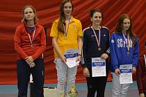 Kateřina Došková byla zlatá na seniorském MČR.
