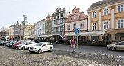 Mírové náměstí v Litoměřicích, ilustrační foto.