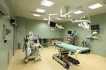 Nové operační sály v litoměřické nemocnici