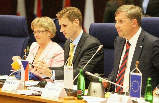 Ministři dopravy EU v Litoměřicích.