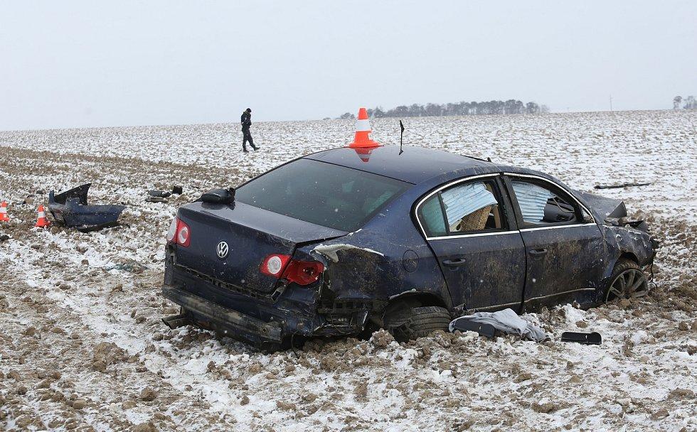 Divoká jízda na Litoměřicku skončila smrtí řidiče.