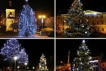 Hlasujte pro nejkrásnější vánoční strom Litoměřicka