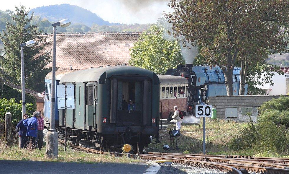 Švestková dráha oslavila 120. výročí.