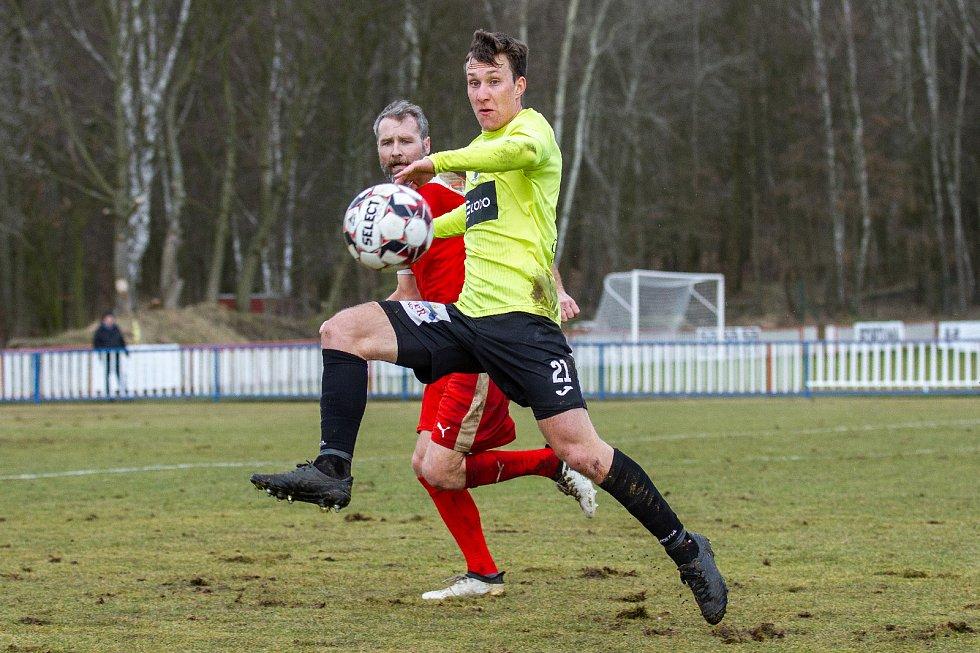 FK Ústí nad Labem - Sokol Brozany, zimní příprava 2020.