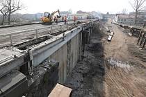 Oprava Tyršova mostu, sobota 11.4.2015