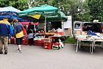 Trhy v Ředhošti.