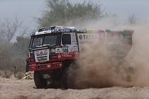 Martin Kolomý na Dakaru.