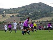 Utkání Sulejovic (ve fialovém) proti Třebenicím