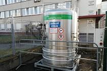 Roudnická nemocnice posílila své zásoby kyslíku