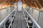 Nová čistírna odpadních vod v Počaplech