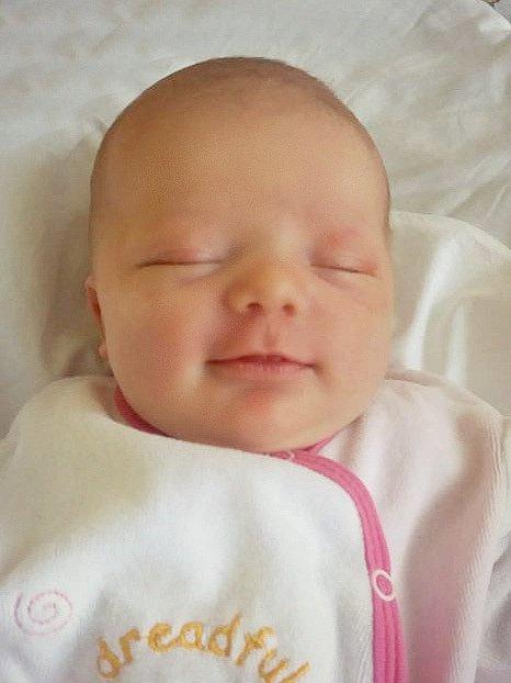 Kristýně Hlinákové a Jakubovi Kaiserovi z Libkovic pod Řípem se 17.3. v 13.39 hodin narodila v Roudnici n.L. dcera Laura Kaiserová (3,57 kg a 50 cm).