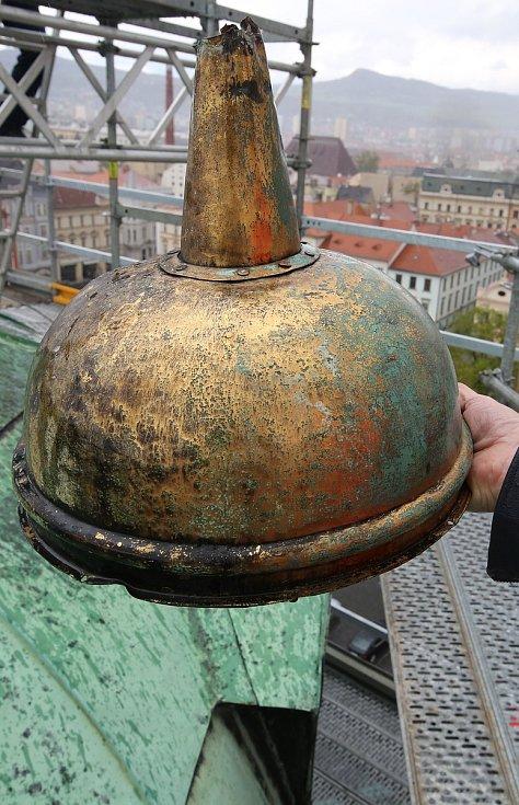 Věž Kalich po staletí ukrývala poselství.