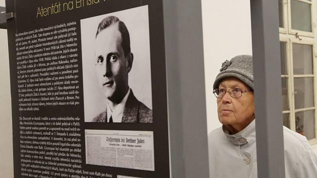 Zahájení výstavy Synagogy v plamenech v Litoměřicích