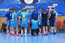 První čtvrtfinále play off házenkářské extraligy Lovosice - Frýdek - Místek domácí zvládli. Nyní bojují o finále s Karvinou.
