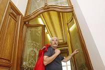 Architekt Novák ve Pfannschmidtově vile