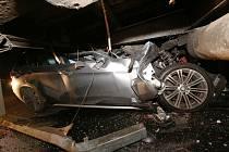 Dopravní nehoda u Třebenic na Litoměřicku.