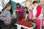 První letošní farmářské trhy