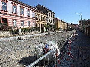 Rekonstrukce Palachovy ulice v Litoměřicích