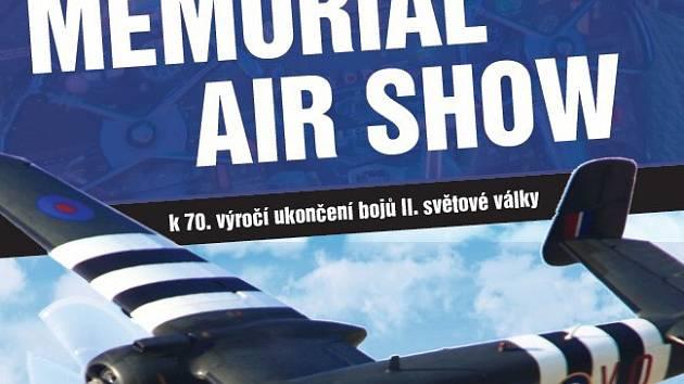 Návrh na plakát pro Air show