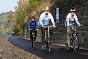 Slavnostní otevření nového úseku cyklostezky Velké Žernoseky - Žalhostice