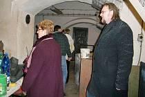 Zastupitelé města Terezín si v pondělí večer neplánovaně prohlédli prostory Klubu přátel historie československé armády Terezín.