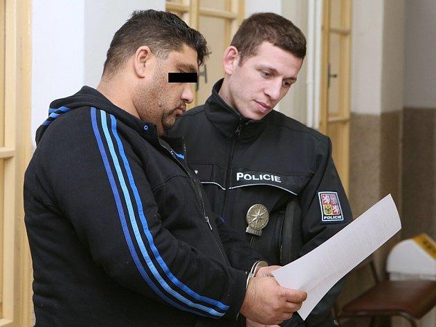 Zadržení prodejci drog u litoměřického soudu