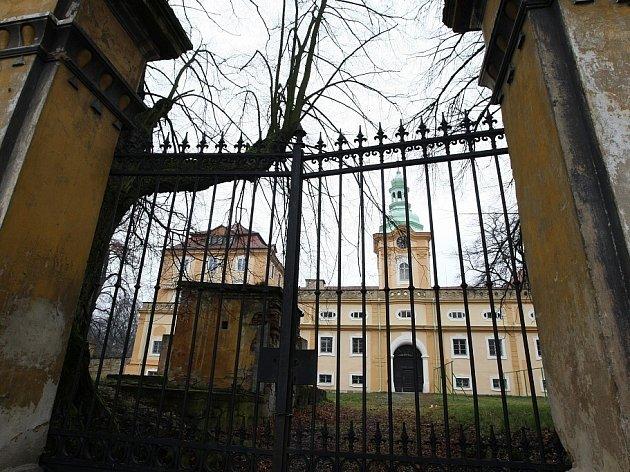 Domov na zámku v Liběšicích