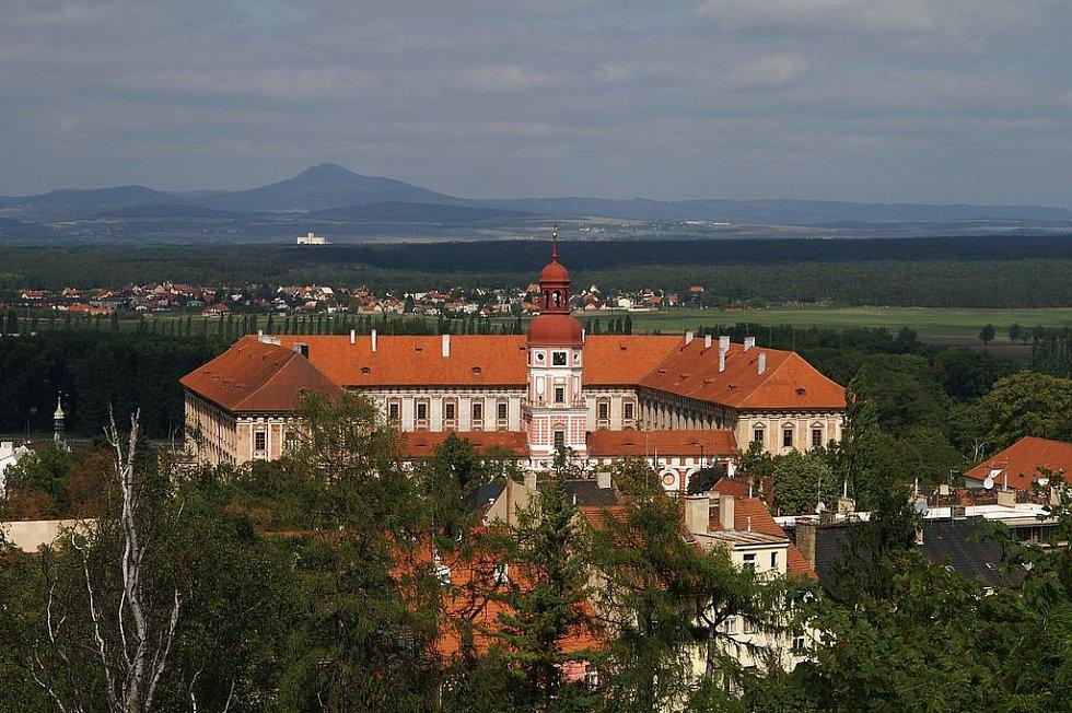 Lobkowiczký zámek v Roudnici nad Labem. Archivní foto