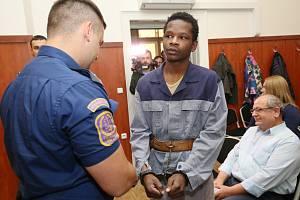 Abdallah Ibrahim Diallo u soudu v Litoměřicích