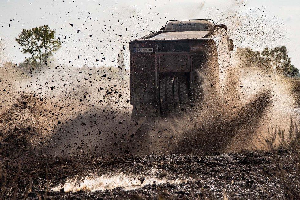 Buggyra testovala na Dakar.