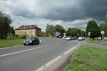 Na křižovatce v Terezínské ulici v Lovosicích postaví ŘSD kruhový objezd