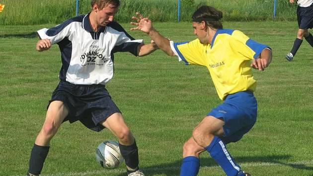 Fotbalisté Podřipanu Rovné nestačili na Dubí