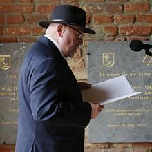 Vzpomínková slavnost v Terezíně