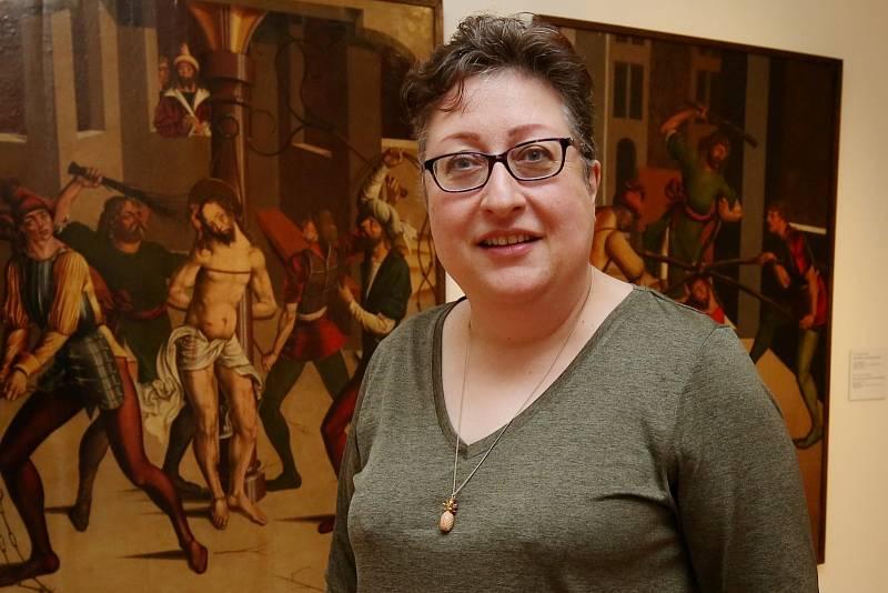 Dana Veselská, nová ředitelka Severočeské galerie výtvarného umění v Litoměřicích