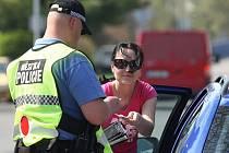 NA PŘEKROČENÍ RYCHLOSTI DOPLATILO v Lovosicích během necelých šesti měsíců již 25  řidičů. Deníku to uvedl ředitel Městské policie Lovosice Jaroslav Janovský.