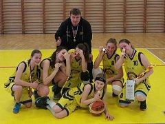 Vítězný tým krajského finále.
